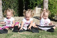 Our Identical Triplet Girls Journey