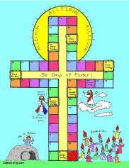 Aftelkalender naar Pasen