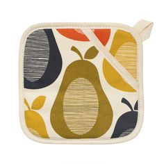 Buy Orla Kiely Multi Flower Pot Grab online and save! Orla Kiely Multi Flower Pot Grab Stay safe whilst cooking with this Multi Flower pot grab from Orla Kiely. With a convenient hanging loop, this pot g.