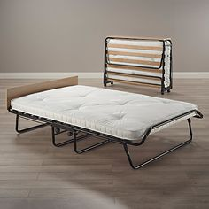 Buy JAY-BE Mayfair Folding Bed with Natural Pocket Sprung Mattress, Double Online at johnlewis.com
