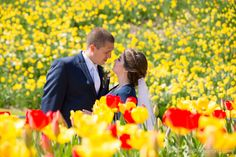 mission point resort tulips on mackinac island photo by Paul Retherford, http://www.PaulRetherford.com #mackinacisland #mackinacislandtulips #tulips #red #yellow #love #wedding #destinationwedding