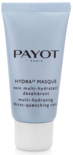 HYDRA 24 MASQUE (50 ml)  In Verbindung mit feuchtigkeitsspendenden Wirkstoffen stärken Ceramide (körpereigene Lipide) den Hydrolipidfilm der Haut und gleichen den Feuchtigkeitsmangel aus. Die frische, geschmeidige Textur der MASQUE CRÈME HYDRATANT ist ideal um das Feuchtigkeitsdepot Ihrer Haut wieder aufzufüllen. http://www.best-kosmetik.de/marken/payot/trockene-haut/hydra-24-masque.html