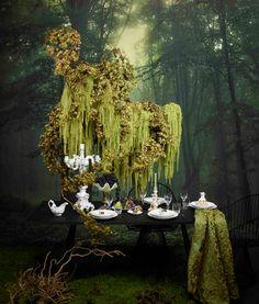 Cascading Flowers, Dried Flowers, Ephemeral Art, Flower Installation, Table Flowers, Event Decor, Event Design, Floral Arrangements, Floral Design