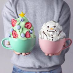 The Latest Vegan Creations Of Naturally Jo Are Ultra Kawaii .- The Latest Vegan Creations Of Naturally Jo Are Ultra Kawaii And Colorful The Latest Vegan Creations Of Naturally Jo Are Ultra Kawaii And Colorful – CutesyPooh - Bolo Tumblr, Yummy Drinks, Yummy Food, Healthy Drinks, Kreative Desserts, Milk Shakes, Cute Desserts, Iftar, Aesthetic Food