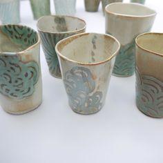 #porcelain #maker #handmade #tumbler #handbuilt #handbuilding #ceramics by spakoclay