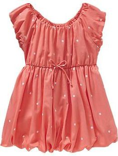 Polka-Dot Bubble Dresses for Baby | Old Navy - If I decide to buy a new dress for her.