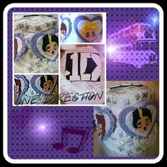 Pastel One Direction/ one direction cake