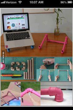 Cute idea for ipad or laptop