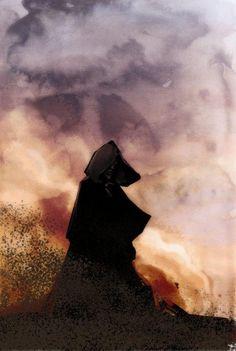 Stephanie Hans, illustrations for The Dark Tower Roland Deschain, The Dark Tower Series, Steve King, Orson Scott Card, Grant Morrison, Magnum Opus, Funky Art, Geek Art, Sci Fi Fantasy