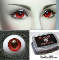 High-Quality Grey Blue 16MM Round Glass BJD Eyes for MSD DZ AOD LUTS BJD Doll