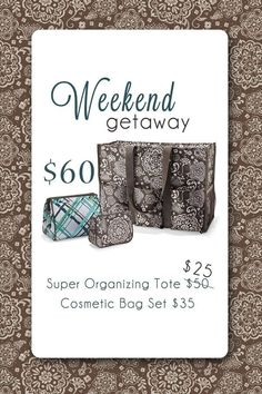 Thirty one for a weekend getaway.
