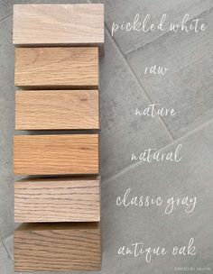Finish options for the floating wood (oak) shelves we're putting in our bathroom! Diy Home Decor Projects, Diy Wood Projects, Robe And Towel Hooks, Best Neutral Paint Colors, Styling Bookshelves, Driven By Decor, Blogger Home, Oak Shelves, Wood Sample