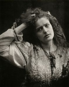 Julia Margaret Cameron  Untitled (Ophelia), circa 1870-75    Albumen print     From Julia Margaret Cameron's Women