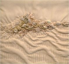 Art Threads: Friday Inspiration - Encrusted Embroidery