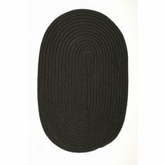 "Boca Raton Black Rug Rug Size: Oval 5' x 7' by Colonial Mills. $152.00. BR42R060X084 Rug Size: Oval 5' x 7' Features: -Technique: Braided.-Material: 100pct Polypropylene.-Origin: USA.-Reversible.-Stain resistant.-Fade resistant. Construction: -Construction: Hand guided. Dimensions: -Pile height: 0.5"".-Overall Dimensions: 34-168'' Height x 22-132'' Width. Collection: -Collection: Boca Raton."