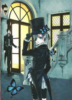Sebastian & Ciel | Kuroshitsuji / Black Butler