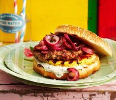 Rezept: California-Spezial-Burger