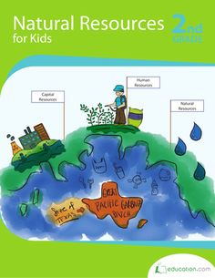 Count on this vocabulary-focused resource as the go-to workbook all about natural resources! Write, research and get a breakdown of the world around by the natural resources we need and use.