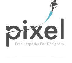 Pixel Pixel Pixel // Free Jetpacks for Designers