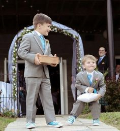 kid tux | ABG Notes: They even have tuxedos for boys and ring bearers. How cute ...