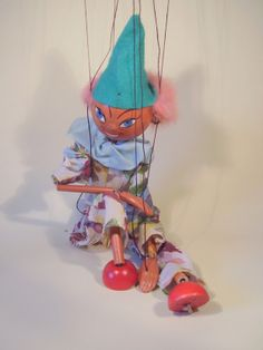 Vintage Pelham Puppet Clown