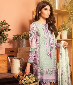 Sapphire Cambric Suits Collection 2015 Vintage Mangolia B
