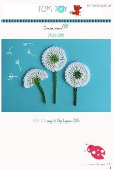 TomToy : Crochet dandelion