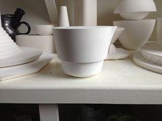 Plaster Models.  Heather Mae Erickson Ceramic Design. heathermaeerickson.com