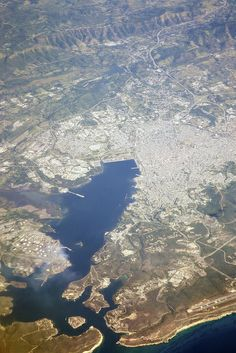 Santiago de Cuba from the Air | 37.000 ft
