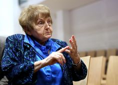 """""""For the life of me I will never understand why anger is preferable to a goodwill gesture,"""" Eva Mozes Kor said."""