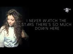 Resultado de imagem para Lorde musicas