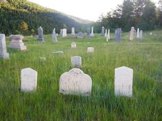 Near Central City, Colorado. (There are many old cemeteries that make for interesting hiking.)