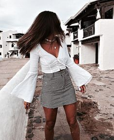 Cute fashion outfits ideas – Fashion, Home decorating Chic Summer Outfits, Trendy Outfits, Fall Outfits, Cute Outfits, Fashion Outfits, Teen Fashion, Foto Fashion, Ootd, Looks Style