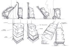 Sketches on Behance #id #design #product #sketch
