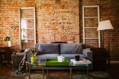 Majestic 12 Extraordinary Living Room Ideas With Exposed Brick Wall As A Room Decoration The exposed brick wall has a highly qualified aesthetic living room. Making the room more artistic. The brick texture on the interior always steals th. Red Brick Walls, Exposed Brick Walls, Dark City, Vintage Prints, Vintage Posters, Vintage Movies, Vintage Art, Decor Vintage, Unique Vintage