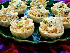 The Weekend Gourmet: April Showers #SundaySupper...Featuring Mini Curry Chicken Salad Phyllo Cups