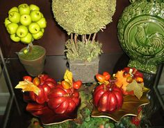 Could make this apple topiary Savvy Seasons by Liz