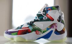 new arrival d669d f456b Here is a NIKEiD creation that was made using the graphic for the Nike  LeBron
