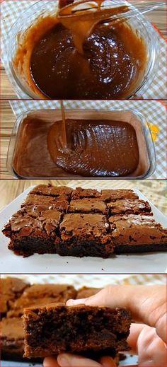 BROWNIE DE CHOCOLATE SUPER FÁCIL E DELICIOSO #brownie #browniedechocolate#comida #culinaria #gastromina #receita #receitas #receitafacil #chef #receitasfaceis #receitasrapidas