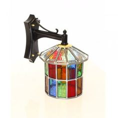 Somerset Lighting BULP-DULVERTON - Exterior Multi Colour Round Lantern