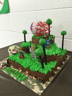Terraria Cake (back)