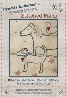 stitched farm
