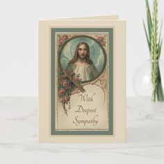 Sympathy Catholic Mass Offering Card Funeral Thank You Cards, Custom Thank You Cards, Custom Greeting Cards, Catholic Funeral, Catholic Mass, Memorial Cards, Deepest Sympathy, Prayer Cards, Condolences