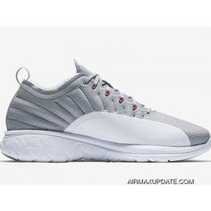 81a9d76385e3 Mens Air Jordan Trainer Prime Basketball Shoes Wolf Grey White Max Orange  881463-