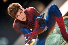 Andrew Garfield as Spider-Man in 'The Amazing Spider-Man'
