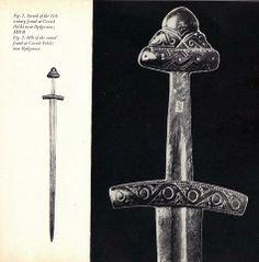 Robert Moc Piast type sword -- Sword of the 11th century found at Czersk Polski near Bydgoszcz