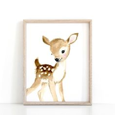 Bosque vivero imprimir Set 4 neutro vivero arte decoración | Etsy