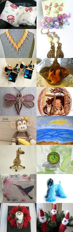 Gifts for any taste by AneleArt on Etsy--Pinned with TreasuryPin.com