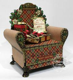 AxeS DeSiGnS: St. Nicholas Chair Mini Album!!