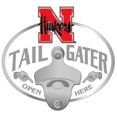 Nebraska Cornhuskers NCAA Tailgater Hitch Cover